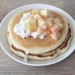 【ヴィーガンレシピ】米粉を使ってパンケーキを作ってみた!