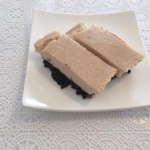 豆腐チーズケーキを作ってみたら…
