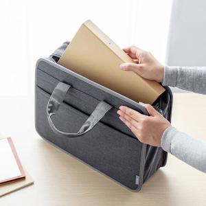 サンワサプライからA4書類やパソコンの持ち運びに便利なテレワークバッグを発売