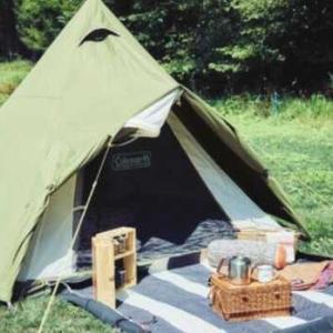 雨が降っても問題なし!速乾性素材TexFiberを採用したコールマンの新作テント&タープ