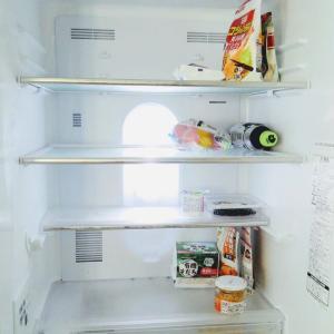ある日の冷蔵庫