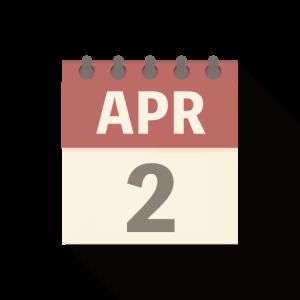 私は4月2日生まれ。