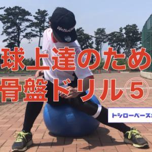 野球上達のための骨盤ドリル⑤【ブラッシング】