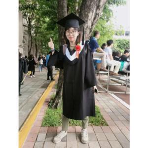 大学の卒業式当日