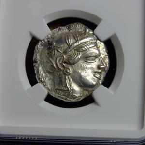 ヘリテージの落札品その2(古代ギリシアのコイン)