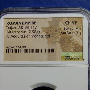 ヘリテージの落札品その3(古代ローマのコイン)