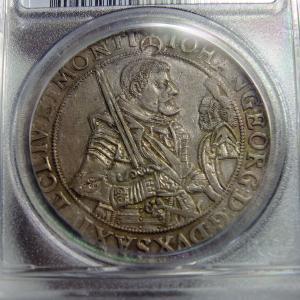 ドイツ ザクセンのターラー銀貨