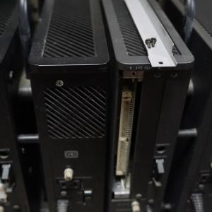 X68000ゲームの液晶モニター表示
