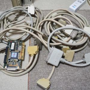 SCSIのCD-ROM交換・いろいろなSCSIケーブル
