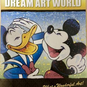 【ディズニー、ドリームアートワールド】何が展示されている?どんな会場?行ってみた感想。