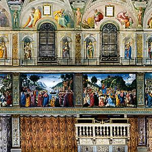 行った気になる世界遺産 バチカン市国 システィーナ礼拝堂 北壁