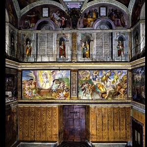 行った気になる世界遺産 バチカン市国 システィーナ礼拝堂 入口
