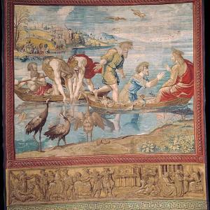 行った気になる世界遺産 バチカン市国 システィーナ礼拝堂 ラファエルのタペストリー