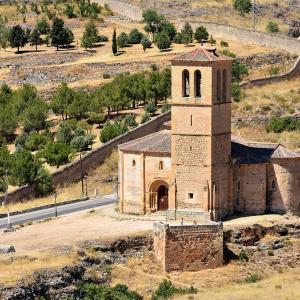行った気になる世界遺産 セゴビア旧市街と水道橋 ラ ベラクルス教会