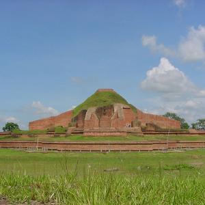 行った気になる世界遺産 パハルプールの仏教寺院遺跡群