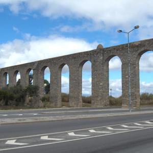 行った気になる世界遺産 エヴォラ歴史地区 アグア・デ・プラタ水道橋