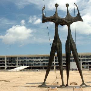 行った気になる世界遺産 ブラジリア 三権広場