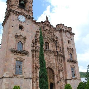 行った気になる世界遺産 グアナフアト歴史地区とその銀鉱群 ヴァレンシアーナ教会