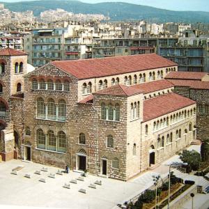 行った気になる世界遺産 テッサロニキの初期キリスト教とビザンティン様式の建造物群 アギオス・ディミトリオス聖堂