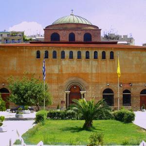 行った気になる世界遺産 テッサロニキの初期キリスト教とビザンティン様式の建造物群 アギア・ソフィア聖堂