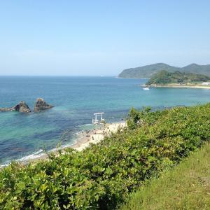 いつか行きたい日本の名所 桜井二見ヶ浦の夫婦岩