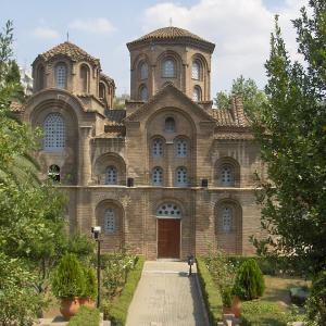 行った気になる世界遺産 テッサロニキの初期キリスト教とビザンティン様式の建造物群 パナギアハルケオン教会