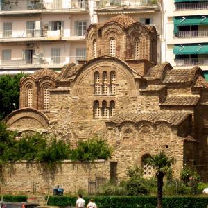 行った気になる世界遺産 テッサロニキの初期キリスト教とビザンティン様式の建造物群 聖パンテレイモン教会