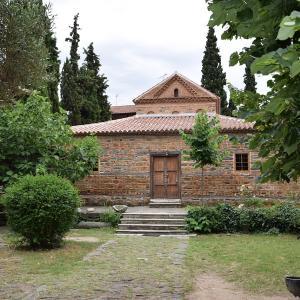 行った気になる世界遺産 テッサロニキの初期キリスト教とビザンティン様式の建造物群 聖ニコラスオルファノス教会