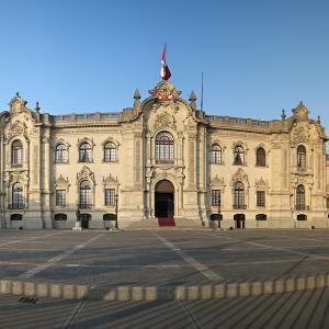 行った気になる世界遺産 リマ歴史地区 政府宮殿