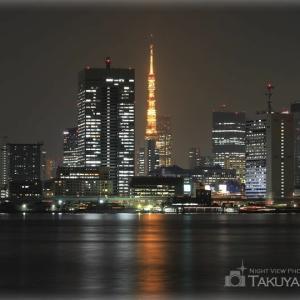 東京の夜空に♪