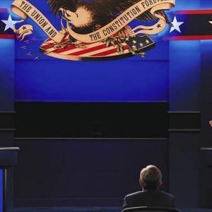米大統領選 ルール度返しのテレビ討論会( こりゃ、半沢直樹よりおもろいわ )