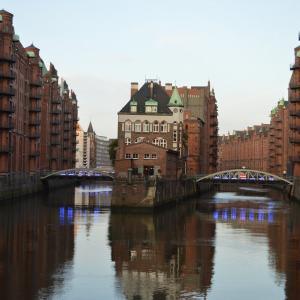 北欧周遊旅行3日目(前編)!ドイツのハンブルクを2時間半で観光!
