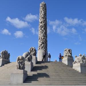 北欧周遊旅行5日目(前編)!芸術的!ヴィーゲラン彫刻公園とムンク美術館