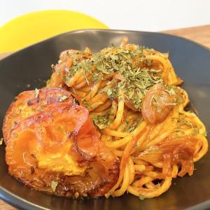 トマトの甘みが引き立つ!「ベーコンと焼きトマトのスパゲッティ」のレシピ
