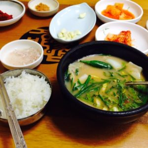 韓国旅行2015Part①【食べ物編】