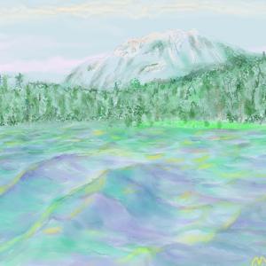 クリップスタジオペイントで描いた初作品完成