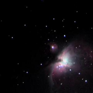 晩秋のオリオン大星雲を撮る