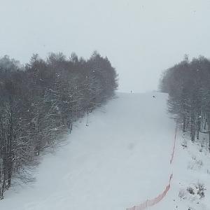 2020-21シーズン滑走16日目 グリーンピア大沼スキー場 新雪のコスミックコースに挑戦