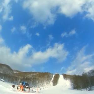 2020-21シーズン滑走18日目 6年ぶりにカミさんと2人のスキー