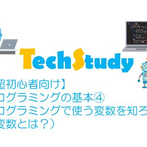 【超初心者向け】プログラミングの基本④プログラミングで使う変数を知ろう(変数とは?)