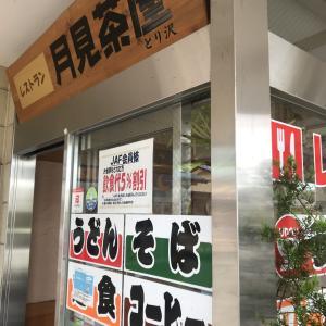 【月見茶屋】道の駅内にあるお食事処で食べたボリューミーなお弁当