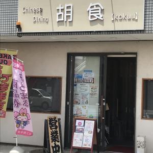 【チャイニーズダイニング 胡食】坦々麺専門店かと思ってたけど坦々麺がうりの中華料理店でした