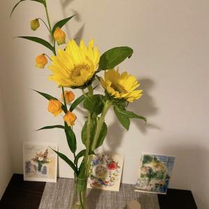 お花を飾る時のコツ  〜境界線とスペースを考える〜