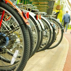 クロスバイクの泥除け(フェンダー)の候補を考える