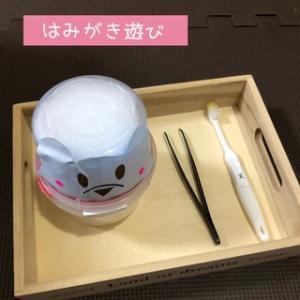 【育児】手作りおもちゃ*はみがき*