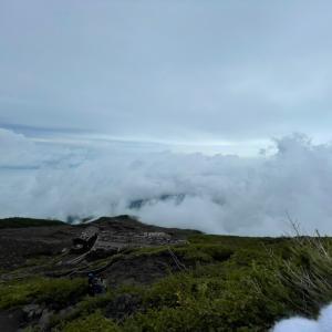 富士登山失敗…
