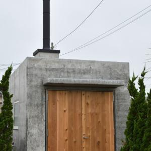夢の暖炉小屋が完成