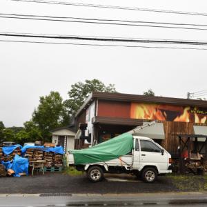 軽井沢で工事予定だったけど雨で延期