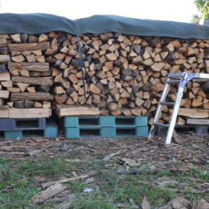 薪を井桁に組む場合のコツ