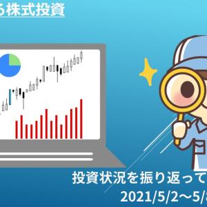 【投資】初心者による株式投資 投資状況 2021年5月8日